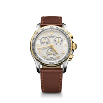 Swiss_Army_Chrono_Classic_Two_Tone_Strap_Watch,_Silver_and_White_Dial