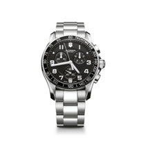 Swiss_Army_Chrono_Classic_Bracelet_Watch,_Black_Dial