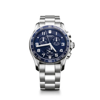 Swiss_Army_Chrono_Classic_Bracelet_Watch,_Blue_Dial