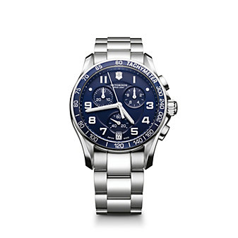Swiss Army Chrono Classic Bracelet Watch, Blue Dial