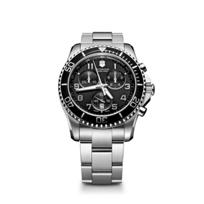Swiss_Army_Maverick_GS_Chronograph_Bracelet_Watch,_Black_Dial