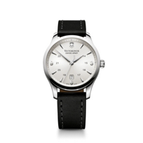 Swiss_Army_Alliance_Strap_Watch,_Silver_Dial