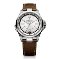 Swiss_Army_Night_Vision_Strap_Watch,_Silver_Dial