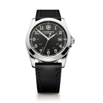 Swiss_Army_Infantry_Strap_Watch,_Black_Dial