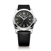 Swiss_Army_Infantry_Strap_Watch,_Black_Dial