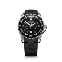 Swiss_Army_Maverick_GS_Strap_Watch,_Black_Dial