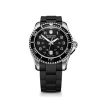 Swiss_Army_Maverick_GS_Strap_Watch,_Black_Dial