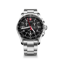 Swiss_Army_Chrono_Classic_XLS__Bracelet_Watch,_Black_Dial