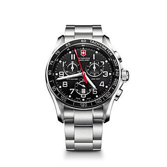 Swiss Army Chrono Classic Watch, Black Dial