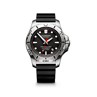 Swiss Army INOX Professional Diver Watch, Black Dial