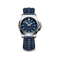 swiss_army_i.n.o.x._v_stainless_steel_37mm_women's_watch_with_blue_dial_and_strap