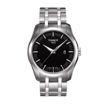 Tissot_Couturier_Men's_Quartz_Black_Dial_Watch
