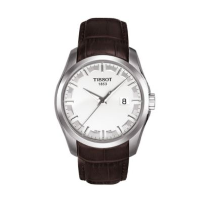 Tissot Couturier Men's Silver Quartz Trend Watch