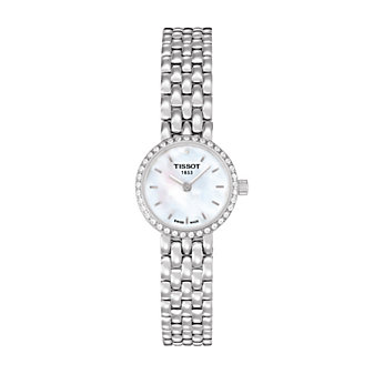Tissot Lovely Women's Quartz Diamond White MOP Dial Watch