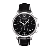 Tissot_Men's_Tradition_Chronograph_Black_Leather_Strap_Watch