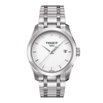 Tissot_Couturier_Quartz_Women's_Stainless_Steel_Watch