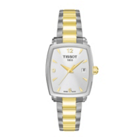 Tissot_Women's_Everytime_Two-Tone_Square_Watch