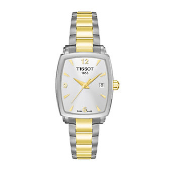 Tissot Women's Everytime Two-Tone Square Watch