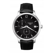 Tissot_Tradition_GMT_Men's_Quartz_Black_Dial_Watch