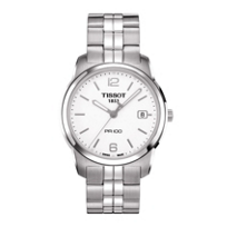 Tissot_PR_100_Men's_Quartz_Steel_White_Dial_Watch