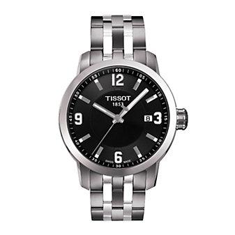Tissot PRC 200 Men's Quartz Black Dial Watch