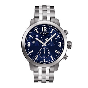 Tissot PRC 200 Men's Quartz Chrono Blue Dial Watch