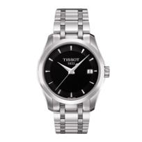 Tissot_Couturier_Women's_Quartz_Black_Dial_Watch