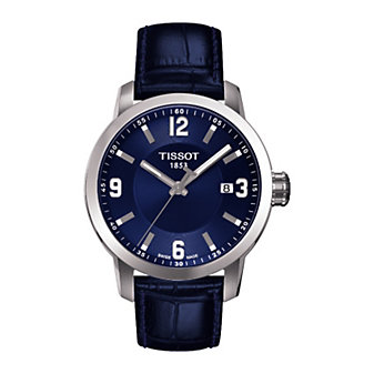 Tissot Men's PRC 200 Blue Dial Watch
