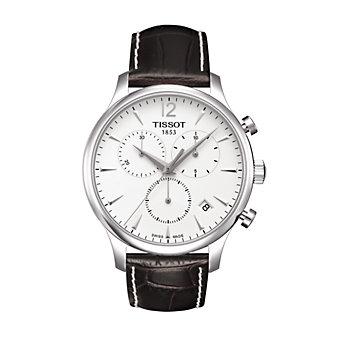 Tissot Tradition Men's Chrono Quartz Silver Dial Watch
