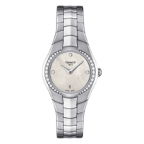 Tissot_T-Round_Women's_Quartz_White_MOP_Dial_Diamond_Watch