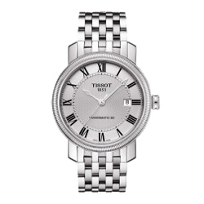 Tissot_Bridgeport_Men's_Powermatic_80_Silver_Dial_Watch