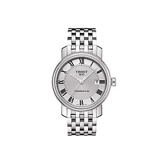Tissot Bridgeport Men's Powermatic 80 Silver Dial Watch
