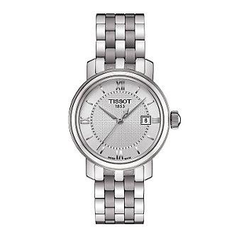 Tissot Bridgeport Quartz Women's Stainless Steel Watch