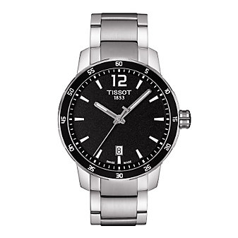 Tissot Quickster Gent and Lady - Black