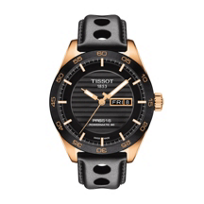 tissot_prs_516_powermatic_80_42mm_men's_watch,_rose_gold_&_black_leather
