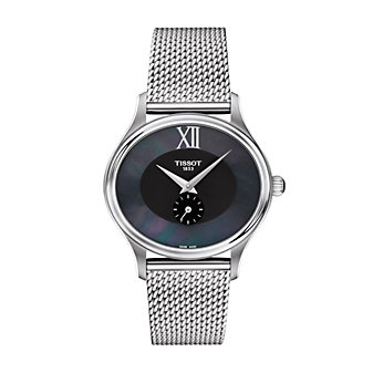tissot bella ora women's watch, stainless steel