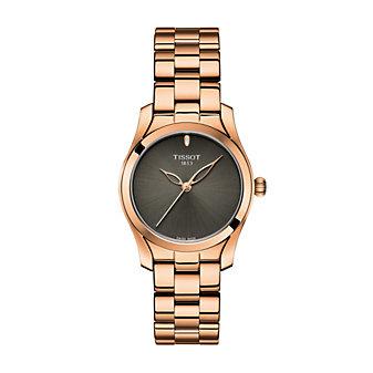 tissot t-wave women's 30mm watch, rose gold