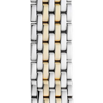 Michele 18mm Deco 7-Link Two-Tone Bracelet