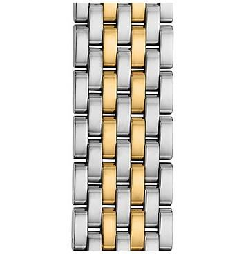 Michele 18mm Serein 7-Link Two-Tone Gold Bracelet