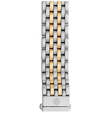 Michele 16mm Serein 16 7-Link Two-Tone Bracelet