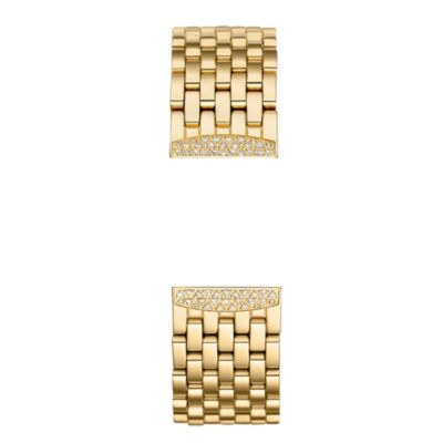 Michele Urban Mini Gold Diamond Bracelet