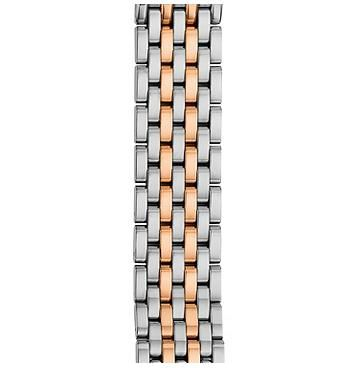 Michele 16mm Serein 16 Two-Tone Rose Gold 7-Link Bracelet