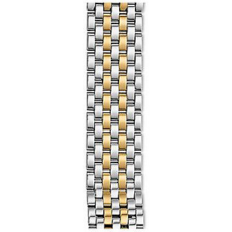 Michele 18mm Gracile 7-Link Two-Tone Bracelet