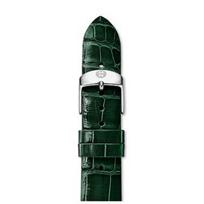 Michele_18mm_Green_Thin_Alligator_Strap