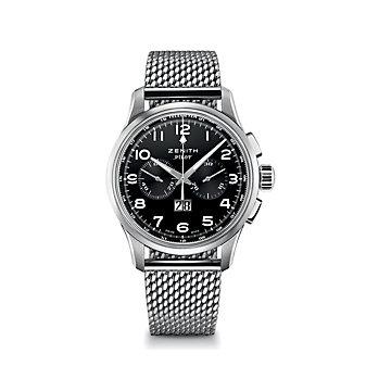 Zenith Pilot Big Date Special Steel Watch