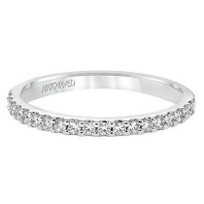 ArtCarved_14K_White_Gold_Round_Diamond_Layla_Anniversary_Band_