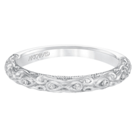 ArtCarved_14K_White_Gold_Alexandra_Diamond_Band,_0.05cttw
