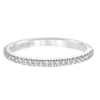 ArtCarved_14K_White_Gold_Kira_Diamond_Band,_0.14cttw