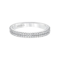 ArtCarved_14K_White_Gold_and_Round_Diamonds_2-Row_Dorothy_Anniversary_Band