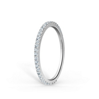 Kirk_Kara_18K_White_Gold_Round_Diamond_Anniversary_Band,_0.25cttw